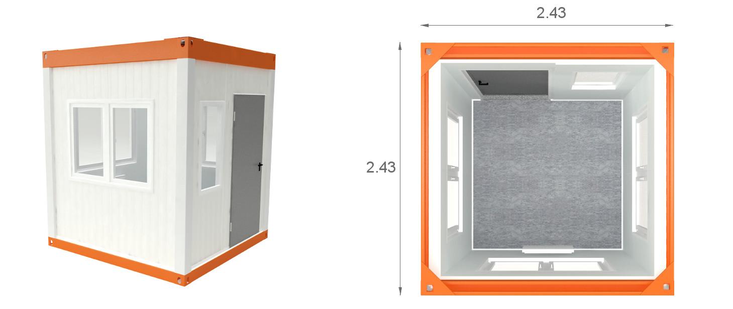 kontener stróżówka KP-ST