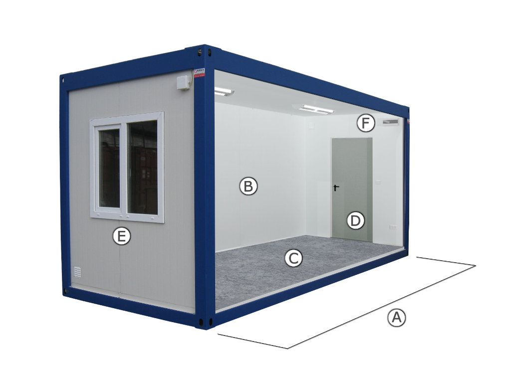 Office container section