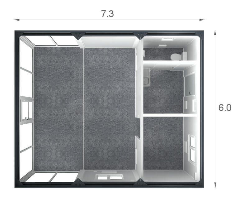 trade container section