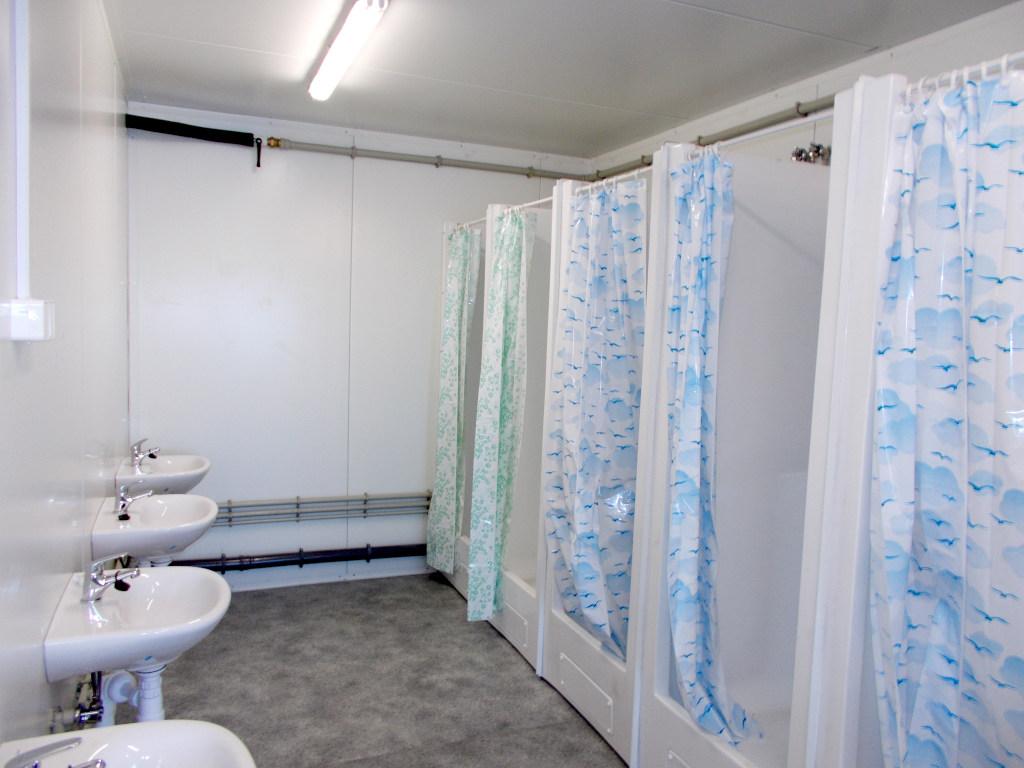 kontener sanitarny - umywalnia