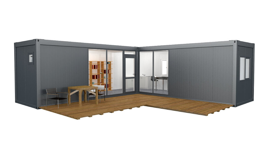 Modular home container