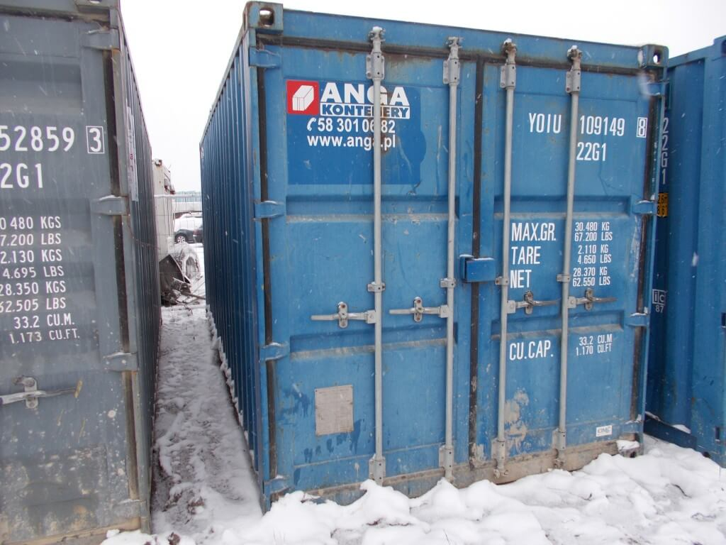 used ISO container 109149-8