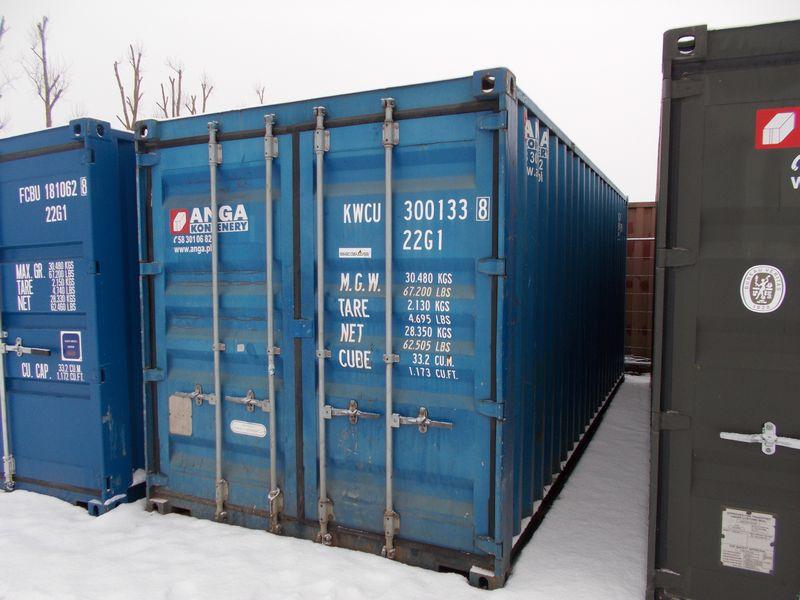 niebieski-używany-kontener-morski nr 300133-8