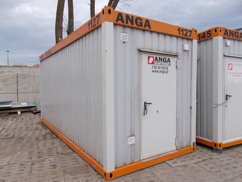 used office container