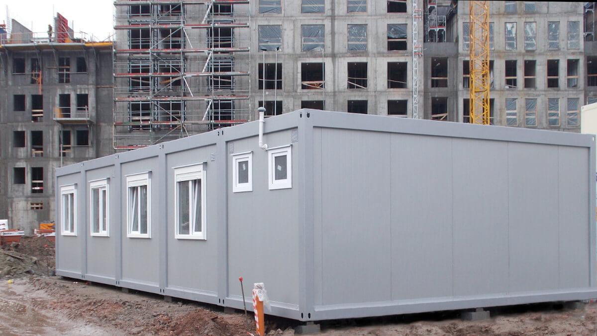 kontenery budowlane - zaplecze budowy