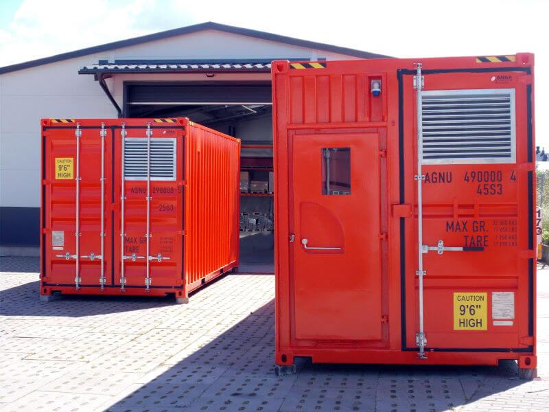 izolowane kontenery morskie