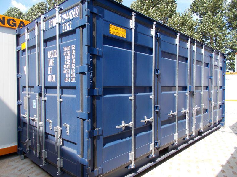 nowy niebieski kontener morski 20 OSD